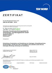 TUEV-Zertifikate-DIN-EN-ISO-9001-2015-Vermotec-GmbH